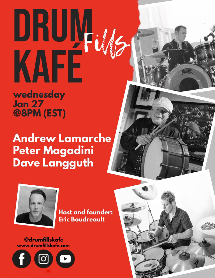 Drum Fills Kafé January 27, 2021