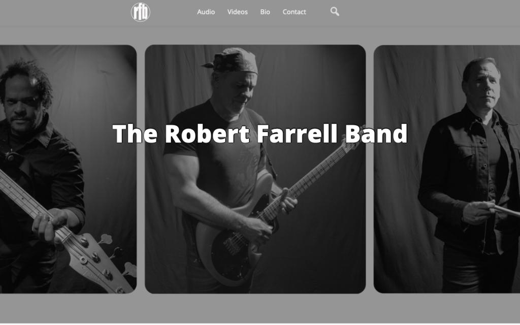 Robert Farrell Band Web Site